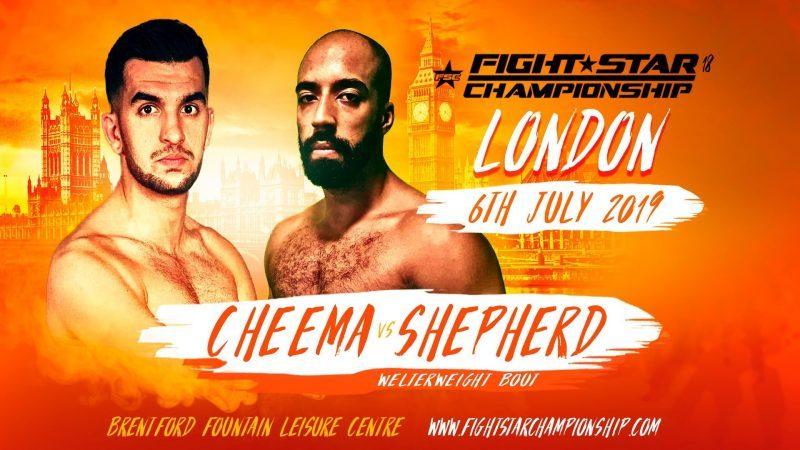FightStar Championship 18: Furqan Cheema vs. Jahreau Shepherd Preview