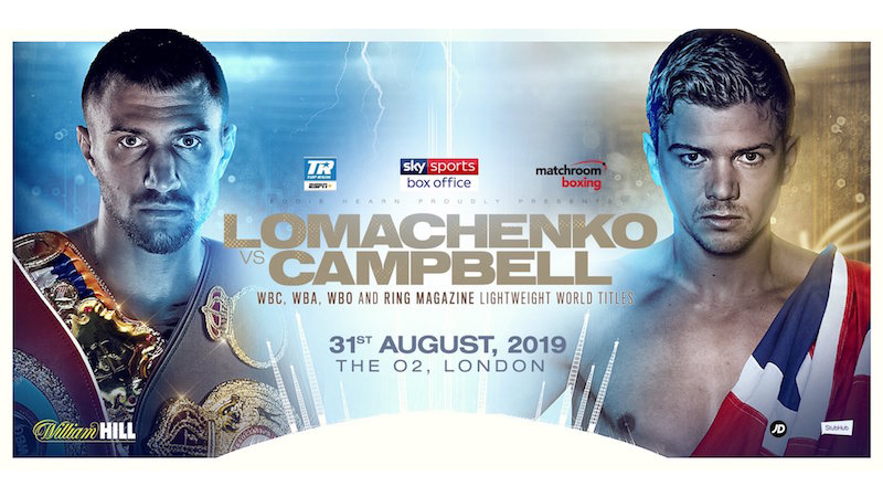 Lomachenko vs. Campbell Preview