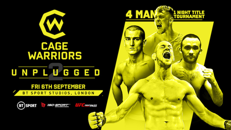 Cage Warriors Unplugged 2 Results