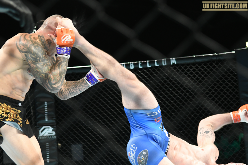 Probellum Results: Gallon upsets Pearson with Rolling Thunder kick