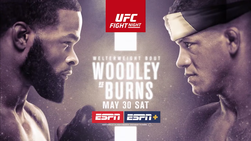 UFC Fight Night: Burns dominates Woodley