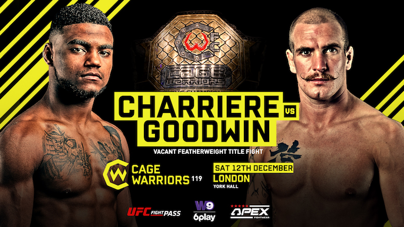 Cage Warriors 119 Results