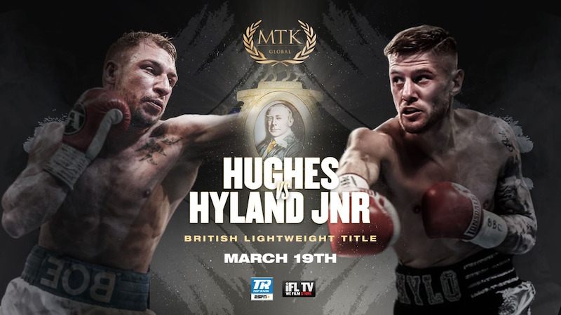 Maxi Hughes faces Paul Hyland Jnr for British lightweight title