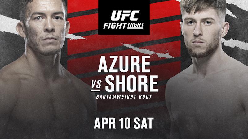 UFC Fight Night: Shore vs. Azure Announced