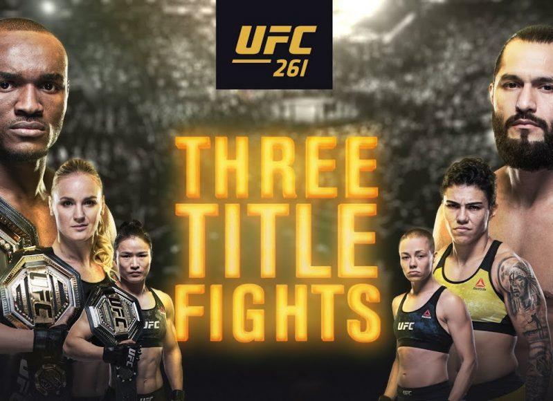 UFC 261: Usman vs Masvidal 2 – Official Trailer
